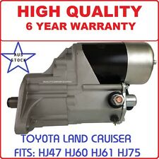 Starter Motor for Toyota Landcruiser HJ61 Engine 12HT 4.0L Turbo Diesel 1987-90