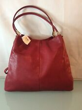 NWT COACH PHOEBE SHOULDER BAG MASON LEATHER SCARLET F26224