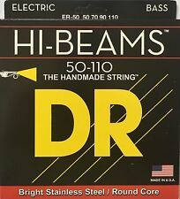 DR ER-50 Hi Beam BASS Guitar Strings 50-110 heavy gauge