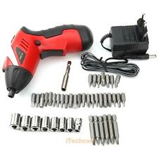 220V Electric Cordless Drill Driver Kit Drilling Screwdriver Tool Rechargeable