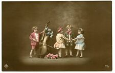 ENFANTS. CHILDREN. VIOLONCELLE. CELLO. INSTRUMENT DE MUSIQUE.