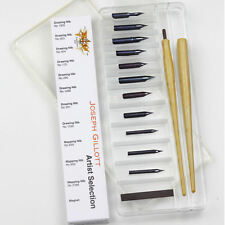 Joseph Gillott Ink Dip Pen Nib Set - Artist Selection Box