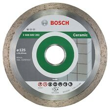Bosch 2608602202 Diamond Cutting Disc Standard for Ceramic 125 mm NEW