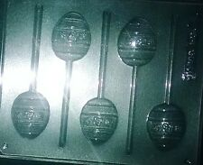 EASTER EGG  CHOCOLATE LOLLIPOP MOULD