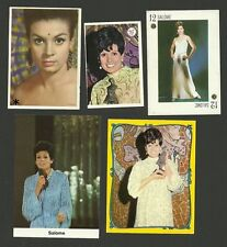 Salome  Music Fab Card Collection Maria Rosa Marco Poquet Vivo Cantando