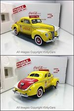 Danbury Mint 1940 FORD DELUXE COUPE- COCA COLA SALESMAN'S CAR- NMIB/UNDISPLAYED!