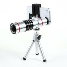 Universal 18X Zoom Phone Telephoto Camera Lens Tripod for iPhone Android Q5R3
