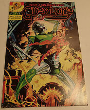 GREYLORE #2 of a 6 Issue Epic! 1986 Sirius Comics