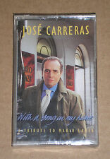 JOSE' CARRERAS - WITH A SONG IN MY HEART - MUSICASSETTA MC SIGILLATA (SEALED)