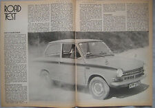 1971 DAF 55 Marathon Original Motor magazine Road test
