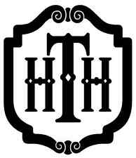 Tower of Terror - Hollywood Tower Hotel - HTH logo vinyl decal - NEW