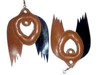 Brand New Falconry Bird Lure for training, Wing Lure, Standard Size,Pure Leather