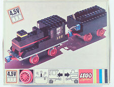 RARE VINTAGE LEGO SET 122 TRAIN LOCO TENDER BOX INSTRUCTIONS WORKING COMPLETE