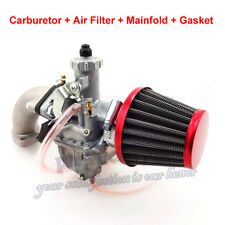 Mikuni 26mm Carburetor Air Filter Intake Pipe For 140 125cc 110cc Pit Dirt Bike