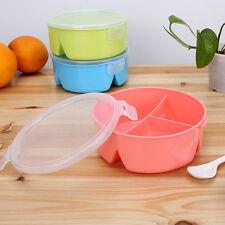 Dreifach Geteilt Mehrere Fächer Lunchbox Joghurt Kanne Schule PP Lunchbox