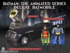 Batman & Robin & Batmobile & Bat Signal The Animated Series Deluxe Edition DC