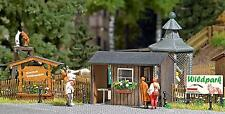 Busch Wildlife Park Ticket Booth 1580 HO Scale (suit OO also)