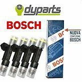 0280158827 INIETTORI 4 PEZZI FIAT PANDA 1.2 BIPOWER NATURAL POWER BOSCH