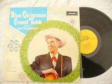 ERNEST TUBB LP BLUE CHRISTMAS stetson / hat 3020 EX+..... 33rpm