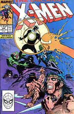 THE UNCANNY X-MEN #249 SIGNED BY ARTIST MARC SILVESTRI