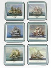 Pimpernel Coasters Tall Ships England Set Of 6