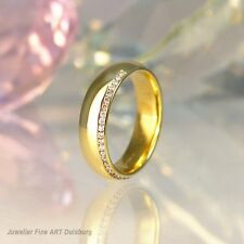 Ring  in 585/- Gelbgold - mit 25 Diamanten 0,18 ct.  Top Wesselton/ SI