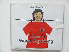 CD Single STAN BOARDMAN Stan's World cup song HRKCD 8155 FOOTBALL FOOT