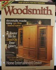 Woodsmith Magazine Vol 25 No 149 October 2003 Entertainment Center Woodworking