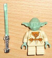 Lego Star Wars Figur Yoda mit Laserschwert, alte Version