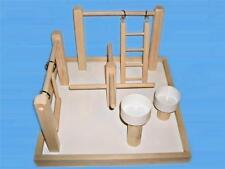 Bird Play Gym With Treat Cups For Small & Medium Birds