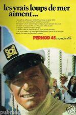 Publicité advertising 1973 Apéritif Anisette Pernod