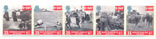 Military World War II D-Day strip of 5 mnh-Great Britain