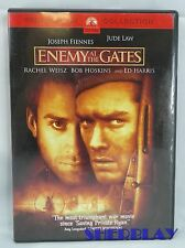 Enemy at the Gates DVD 2001 Widescreen Collection Joseph Fiennes Jude Law