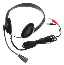 Lightweight Headset Headphone with Microphone for Gaming PC Laptop Skype