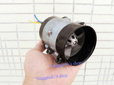 12V DC Brushless Motor Three Phase Inner Rotor Metal Ducted Fan Turbo Blower New