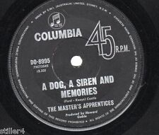 THE MASTER´S APPRENTICES A Dog,.. *ORIGINAL AUSTRALIA COLUMBIA LABEL 70s*