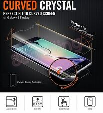 5 x FULL CURVED FIT Screen Protector + 5 x BACK FILM for Samsung Galaxy S7 EDGE