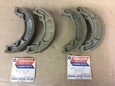NOS YAMAHA DT100 DT125 DT175 YZ100 YZ125 MX  FRONT & REAR BRAKE SHOES