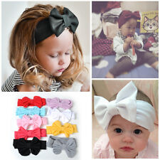 9Pcs Cute Kids Girls Baby Toddler Flower Bow Headband Hair Band Headband Elastic