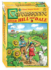 Carcassonne Over Hill And Dale Tile Game Z-Man Games ZMG 78650
