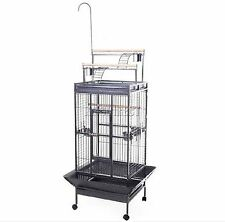 FoxHunter Large Metal Bird Cage Stand Aviary Parrot Budgie Canary Cockatiel 04