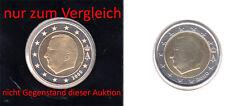Belgien 2 Euro 2000 Kursmünze Fehlprägung / Prägeausfall - bankfrisch - rar
