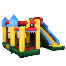 New Mighty Inflatable Bounce House Castle Jumper Moonwalk Bouncer Without Blower
