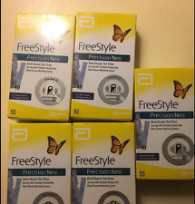 FreeStyle Precision Neo Blood Glucose 50 Test Strips EXP 3/31/18