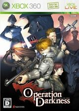Used Xbox360 Operation Darkness Japan Import