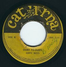 """Hippy Boys - Ashes To Ashes / Dust To Dust Dub - Caturna 7"""" 45T Rare Reggae 75 ♫"""
