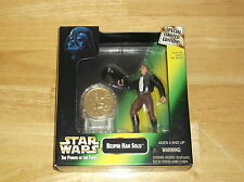 1997 STAR WARS BESPIN HAN SOLO W/ COIN THE POWER OF THE FORCE SPECIAL EDITION