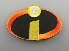THE INCREDIBLES DISNEY Embroidered Patch Iron Sew Logo Hardcore Emblem Custom