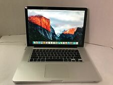 "Apple MacBook Pro 15"" Late 2008 - 2.4 GHz - Core 2 Duo - 2 GB RAM - Unibody El C"