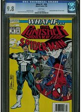 WHAT IF #58 CGC MINT 9.8 PUNISHER HAD KILLED SPIDER-MAN SWIPE AMAZING #129 COVER